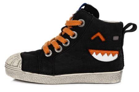 D-D-step chlapčenská celoročná obuv 043-520A 25 čierna