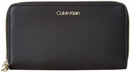 Calvin Klein Dámska peňaženka Ck Must Large Ziparound Black