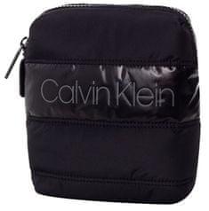 Calvin Klein Pánska crossbody taška Puffer M ini Reporter Black