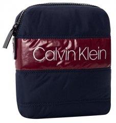 Calvin Klein Pánska crossbody taška Puffer M ini Reporter Navy