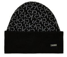Calvin Klein Pánska čiapka Industrial Mono Beanie M Black