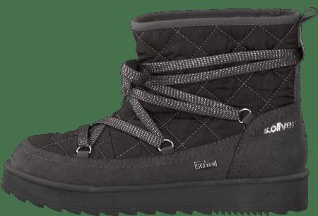 s.Oliver ženske čizme za snijeg 36 tamno sive
