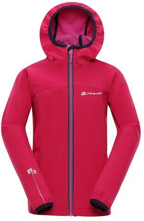 ALPINE PRO NOOTKO 8 lány kabát 104 - 110 rózsaszín