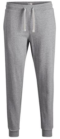 Jack&Jones Férfi nadrág JJEHOLMEN verejték nadrág NOOS Light Grey Melange (méret XL)