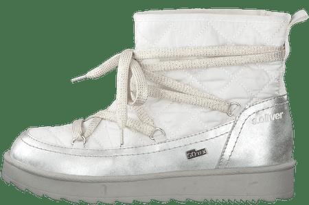 s.Oliver ženske čizme za snijeg 41 bijele