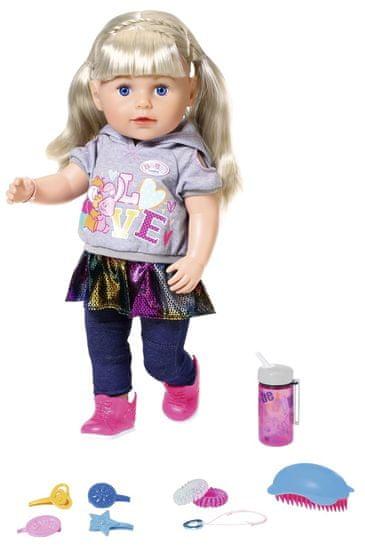 BABY born Starší sestřička Soft Touch blondýnka, 43 cm