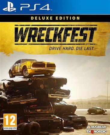 THQ Nordic Wreckfest - Deluxe Edition igra (PS4)