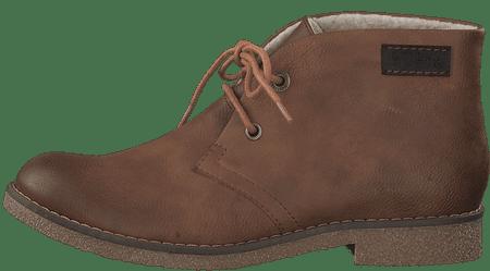 s.Oliver dámska členková obuv 26111 36 hnedá