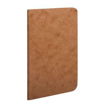 Clairefontaine zvezek Age Bag, črtni, 48 listov, rjav, 14,8х21 cm