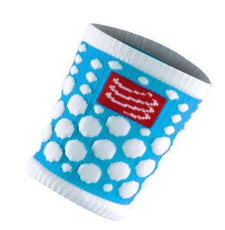 Compressport Sweatbands 3d. trak za znoj Dot, svetlo moder