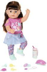 BABY born lalka starsza siostra Soft Touch brunetka, 43 cm