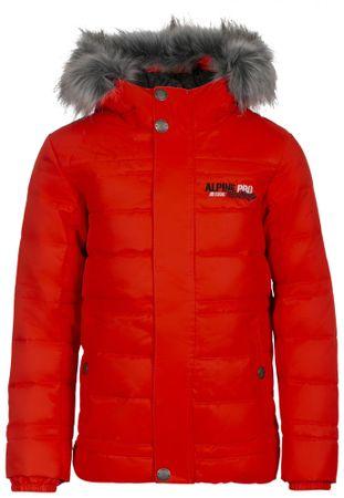 ALPINE PRO kurtka dziecięca ICYBO 3 128 - 134 czerwona