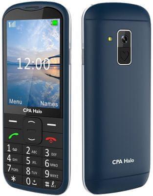 CPA Halo 18 Senior, mobil pro důchodce, fotokontakty