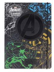 Avengers Blok A5 Marvel Avengers Team
