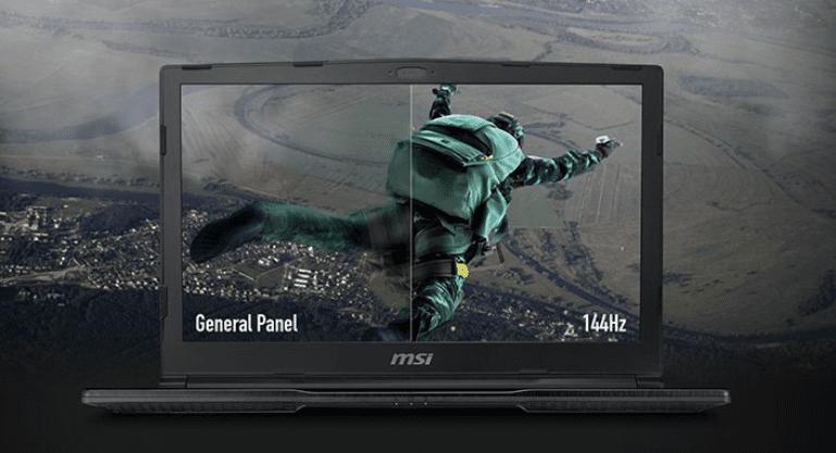 herní notebook MSI GE63 Raider RGB 9SE-836CZ herní notebook kvalitní displej full hd