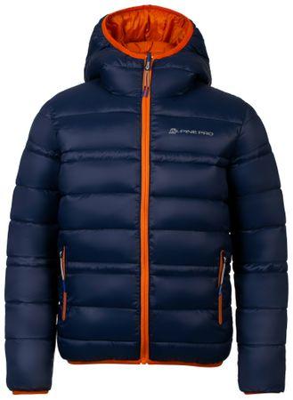 ALPINE PRO detská obojstranná bunda SELMO 104 - 110 viacfarebná
