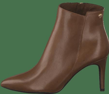 s.Oliver dámska členková obuv 25364 40 hnedá