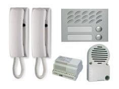 ACI Farfisa KIT 2MPW Sada dom. telefonů pro 2 uživatele (Mody+ Project) 4+n