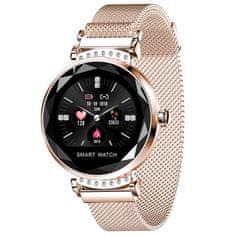 Smartomat Sparkband - złoty, smart watch (inteligentny zegarek)