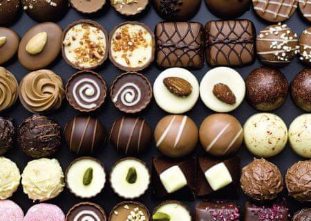 Nathan Puzzle 1500 db Sweets Chocolates