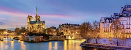 Nathan Puzzle 1000 db Paris, France
