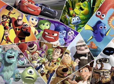 Nathan Puzzle 500 db Pixar Heroes
