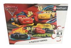 Nathan 4 Puzzles - Cars 3