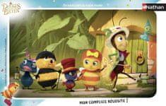Nathan Frame Jigsaw Puzzle - Drôles de Petites Bêtes 15 dielikov