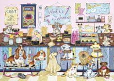 Gibsons Puzzle 500 dílků XXL dílků - Woofit's Sweet Shop