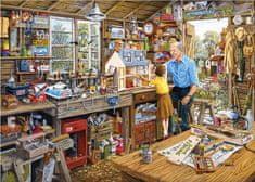 Gibsons Puzzle 1000 dílků Jigsaw Puzzle - 1000 dílků - Grandpa's Workshop