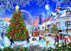 Gibsons Puzzle 1000 dílků Steve Crisp - The Village Christmas Tree