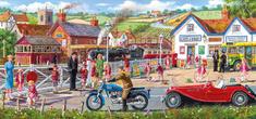 Gibsons Puzzle 636 dílků Derek Roberts - Railroad Crossing