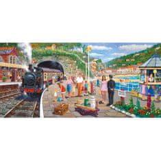 Gibsons Puzzle 636 dílků Derek Roberts: Seaside Train