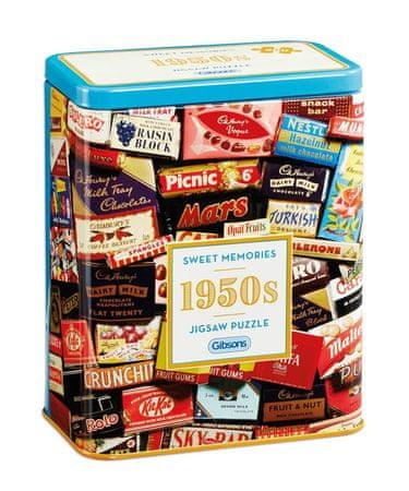 Gibsons Puzzle 500 dielikov 1950s Sweet Memories