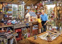 Gibsons Puzzle 500 dílků XXL dílků - Grandad's Workshop