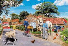 Gibsons Puzzle 100 dílků XXL dílků - Trevor Mitchell - Olive House Farm