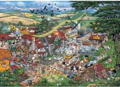 Gibsons Puzzle 1000 dílků Jigsaw Puzzle - 1000 dílků - I love the Farmyard