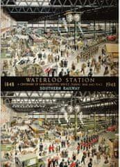Gibsons Puzzle 1000 dílků 100 ans de la gare de Waterloo 1848 - 1948