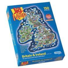 Gibsons Puzzle 150 dílků Jigsaw Puzzle - 150 dílků - Maxi - Great Britain an