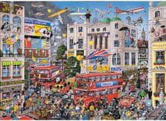 Gibsons Puzzle 1000 dílků Jigsaw Puzzle - 1000 dílků - I love London
