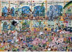 Gibsons Puzzle 1000 dílků Jigsaw Puzzle - 1000 dílků - I love Animals