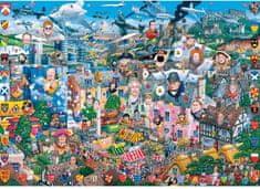 Gibsons Jupp: I Love Great Britain 1000 dielikov