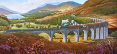 Gibsons Puzzle 636 dílků Mike Jeffries - Glenfinnan Viaduct