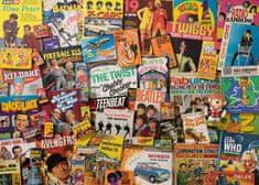 Gibsons Puzzle 1000 dílků Robert Opie - Spirit of The 60's