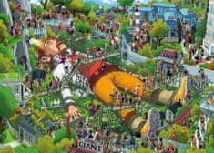 Heye Puzzle 1000 dielikov Uli Oesterle - Gulliver