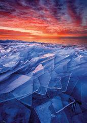 Heye Puzzle 1000 dielikov Ryan Tischer - Ice Layers
