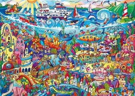 Heye Puzzle 1000 dielikov Rita Berman - Magic Sea
