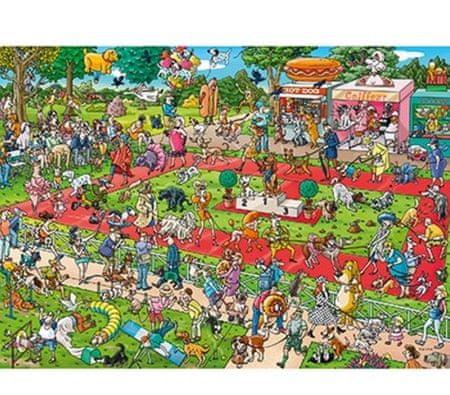 Heye Puzzle 1000 dielikov Dog Show