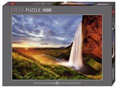 Heye Puzzle 1000 dielikov Seljalandsfoss Waterfall