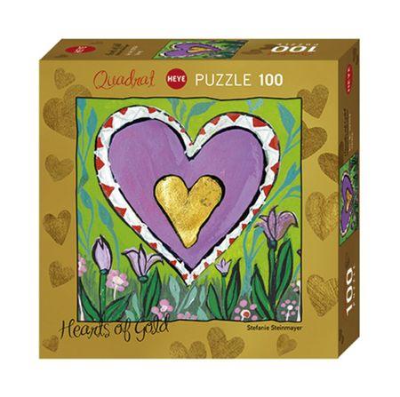 Heye Puzzle 100 dielikov Stefanie Steinmayer - Hearts of Gold - Spring